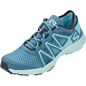 Salomon Crossamphibian Swift Shoes Dame mallard blue/blue curacao